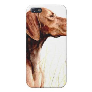 vizsla pedigrí del caso del iPhone del perro iPhone 5 Coberturas
