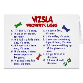 VIZSLA Property Laws 2 Card