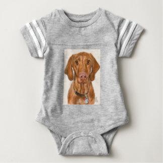 Vizsla Puppy Baby Bodysuit