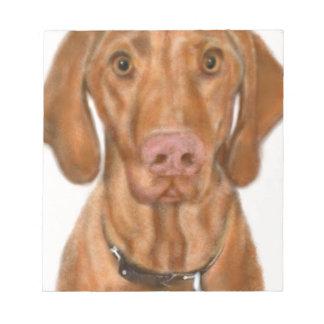 Vizsla Puppy Notepad
