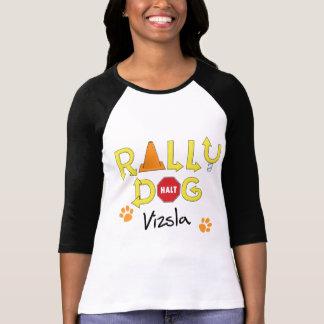 Vizsla Rally Dog Tshirt