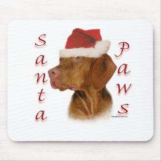 Vizsla Santa Paws Mouse Pad