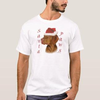 Vizsla Santa Paws T-Shirt
