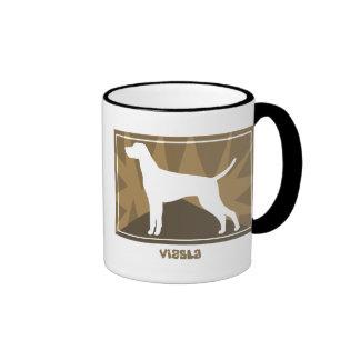 Vizsla terroso tazas de café