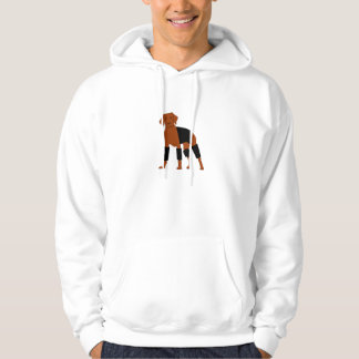 Vizsla the Velcro Dog hoodie