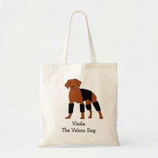 Vizsla The Velcro Dog Tote Bag