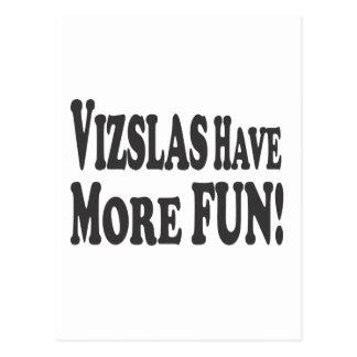 Vizslas Have More Fun! Postcard