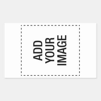 vl rectangular sticker
