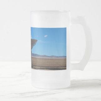 VLA Dish Walkway Frosted Glass Beer Mug