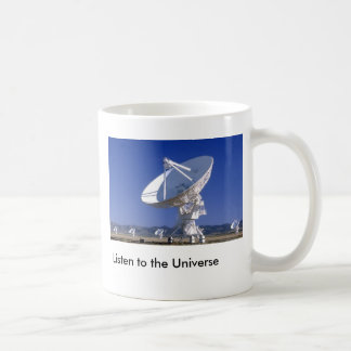 VLA  Listen to the Universe Classic White Coffee Mug