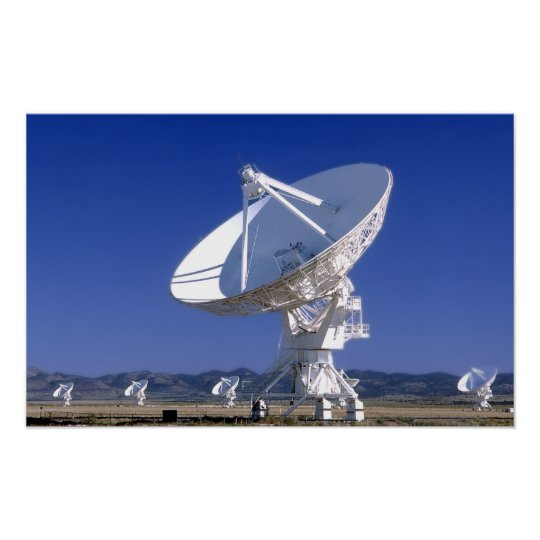 VLA  - Listen to the Universe Poster