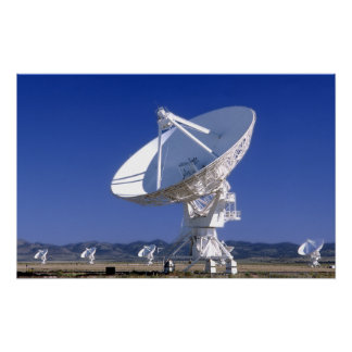 VLA - Listening to the Universe Poster