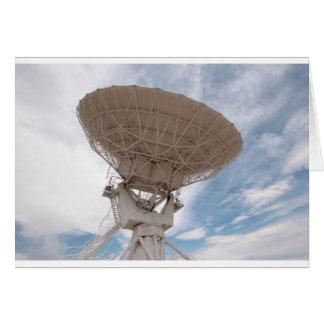 VLA Radio Receiving New Mexico Card