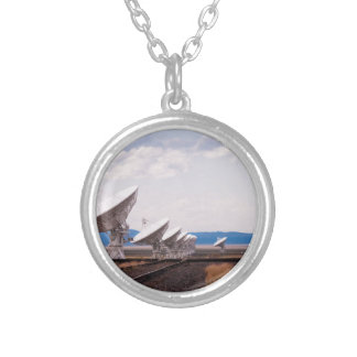 VLA Very Large Array New Mexico Round Pendant Necklace