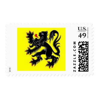 vlaamse leeuw stamp