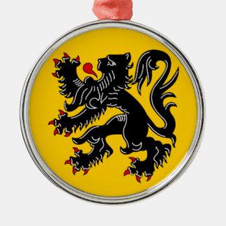 Vlaanderen (Flanders) Metal Ornament