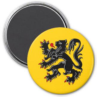 Vlaanderen (Flandes) Imán Redondo 7 Cm