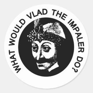 Vlad Classic Round Sticker