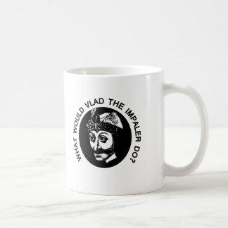 Vlad Classic White Coffee Mug