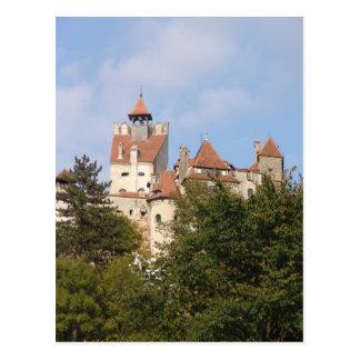 Vlad Dracul, AKA Drácula, castillo en el salvado 1 Tarjetas Postales