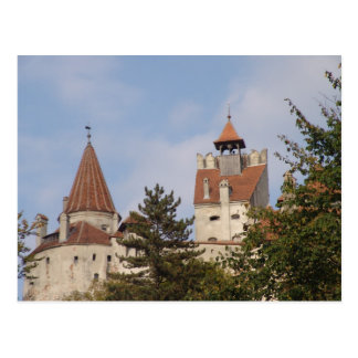 Vlad Dracul, AKA Dracula, castle at Bran 1 Postcard