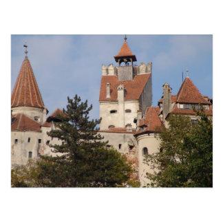 Vlad Dracul, AKA Dracula, castle at Bran 2 Postcard