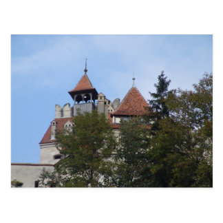Vlad Dracul, AKA Dracula, castle at Bran 4 Postcard