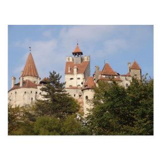 Vlad Dracul, AKA Dracula, castle at Bran 5 Postcard