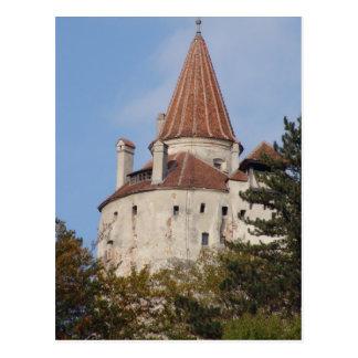 Vlad Dracul, AKA Dracula, castle at Bran 6 Postcard