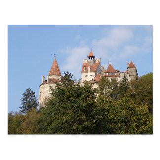Vlad Dracul, AKA Dracula, castle at Bran Postcard
