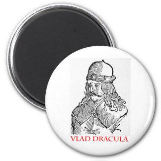Vlad Dracula 2 Inch Round Magnet