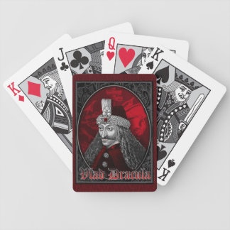 Vlad Dracula Gothic Bicycle Playing Cards