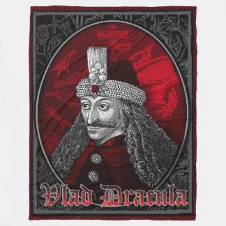 Vlad Dracula Gothic Fleece Blanket