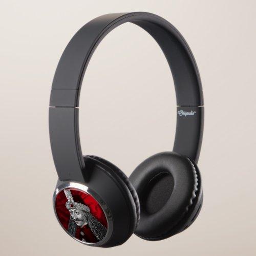 Vlad Dracula Gothic Headphones