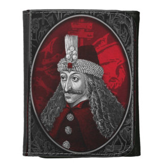Vlad Dracula Gothic Leather Wallet