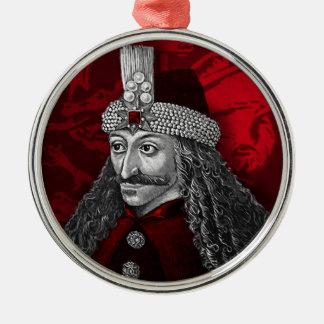 Vlad Dracula Gothic Metal Ornament