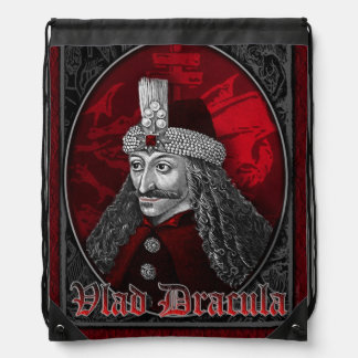 Vlad Dracula Gothic Drawstring Backpack
