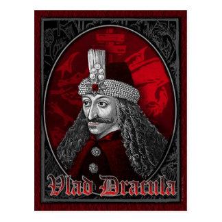 Vlad Dracula Gothic Postcard