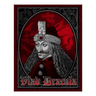 Vlad Dracula Gothic Poster