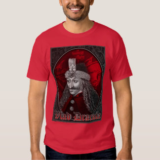 Vlad Dracula Gothic T Shirt