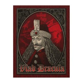 Vlad Dracula Gothic Wood Wall Art