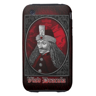 Vlad Drácula gótico iPhone 3 Tough Fundas