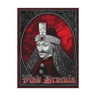 Vlad Drácula gótico Lienzo Envuelto Para Galerías