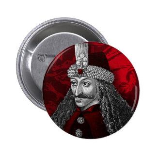 Vlad Drácula gótico Pin Redondo 5 Cm