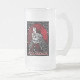 Vlad Drácula gótico Taza Cristal Mate