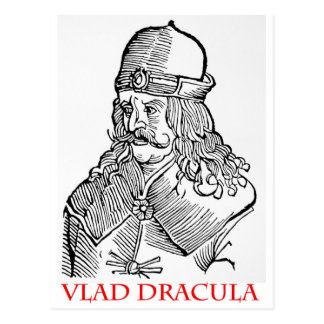 Vlad Drácula Postal