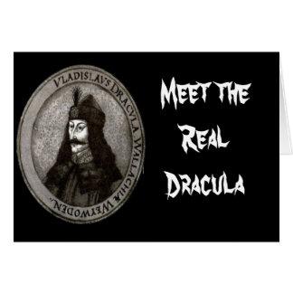 Vlad Draculeala Meet the real Dracula Greeting Card