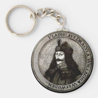 Vlad el Impaler Llavero Redondo Tipo Pin