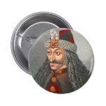 Vlad el Impaler Pinback Pin Redondo De 2 Pulgadas
