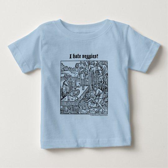 "Vlad ""I Hate Veggies!"" infant tshirt"